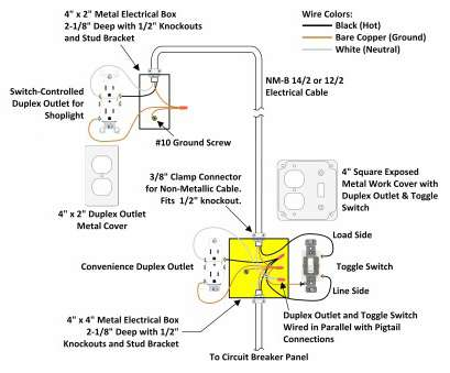 19 Professional Wiring A Lighted Toggle Switch Diagram Images - Tone on