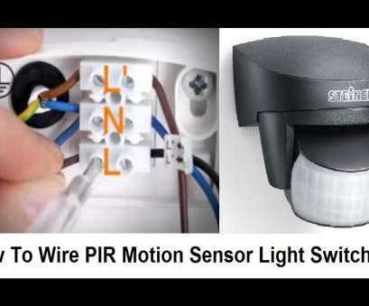 wiring a motion switch How To Wire, Motion Sensor Light Switch 11 Simple Wiring A Motion Switch Solutions