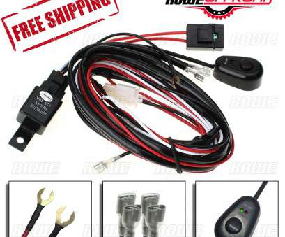 wiring a power switch 9ft, 12V Power Switch & Relay Wiring Harness, for, LED Lights (ATV/SUV) Wiring A Power Switch Brilliant 9Ft, 12V Power Switch & Relay Wiring Harness, For, LED Lights (ATV/SUV) Photos