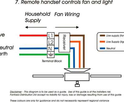 11 Brilliant Wiring A Single Pole Switch To A Ceiling Fan Pictures