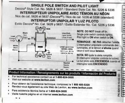 8 Most Wiring A Single Pole Switch With Pilot Light Images