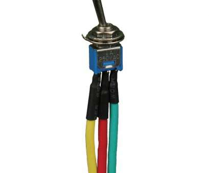 Wiring A Single Pole Toggle Switch Nice Amazon.Com: Install, Toggle Switch, Mini Single Pole Single Throw, Wired 6 Inch On, Off 5, Bag- IBTSSMS:, Electronics Galleries