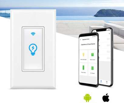 wiring a smart switch Smart Switch, Homeyard Smart Light Switch In-Wall Phone WiFi Remote Control Wireless Switch No, Required, Works with Alexa, Google Assistant (1 pack) Wiring A Smart Switch Cleaver Smart Switch, Homeyard Smart Light Switch In-Wall Phone WiFi Remote Control Wireless Switch No, Required, Works With Alexa, Google Assistant (1 Pack) Galleries