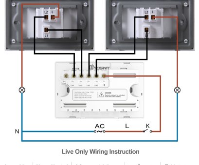 wiring a switch common Option 1: Connect Yoswit 3-way switch with, common 3-way switches, 2-wire (without neutral wire) Wiring A Switch Common Most Option 1: Connect Yoswit 3-Way Switch With, Common 3-Way Switches, 2-Wire (Without Neutral Wire) Solutions