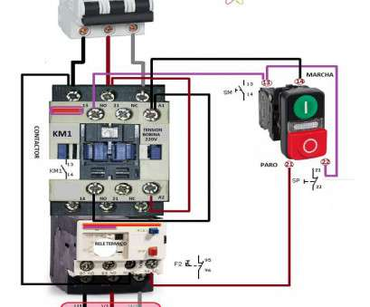 wiring a switch contactor With Contactor Wiring Diagram, A 3 Phase Start Stop Switch Throughout Wiring A Switch Contactor Top With Contactor Wiring Diagram, A 3 Phase Start Stop Switch Throughout Solutions