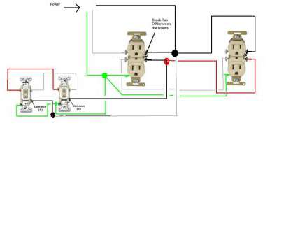 wiring a switch and receptacle Three, Outlet Wiring Diagrams Schematics Best Of, To Wire A Switched Diagram Wiring A Switch, Receptacle Nice Three, Outlet Wiring Diagrams Schematics Best Of, To Wire A Switched Diagram Ideas