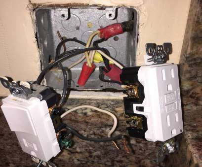 wiring a switch and receptacle wiring -, to wire a GFCI duplex outlet with a garbage disposal Wiring A Switch, Receptacle Best Wiring -, To Wire A GFCI Duplex Outlet With A Garbage Disposal Ideas