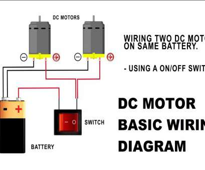 wiring a switch to a motor How To Wire a DC Motor On Battery With Switch, Relay 10 Simple Wiring A Switch To A Motor Ideas