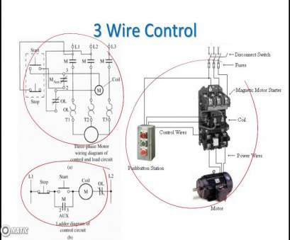 wiring a switch with 3 wires Ladder Diagram Basics #3 (2 Wire, Wire Motor Control Circuit), YouTube Wiring A Switch With 3 Wires Simple Ladder Diagram Basics #3 (2 Wire, Wire Motor Control Circuit), YouTube Pictures
