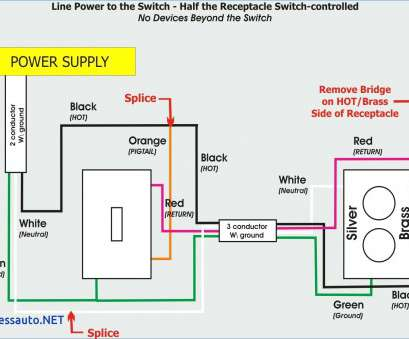 wiring a switched outlet power to receptacle 16, Plug Wiring Diagram Uk, Light Switch Outlet, To Wire Inside With Switch Plug Wiring Diagram Wiring A Switched Outlet Power To Receptacle Practical 16, Plug Wiring Diagram Uk, Light Switch Outlet, To Wire Inside With Switch Plug Wiring Diagram Galleries
