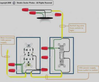 wiring a switched outlet wiring diagram – power to receptacle Half Switched Receptacle Wiring Diagram Solutions Within Outlet To Switch Light Wiring A Switched Outlet Wiring Diagram, Power To Receptacle Popular Half Switched Receptacle Wiring Diagram Solutions Within Outlet To Switch Light Images