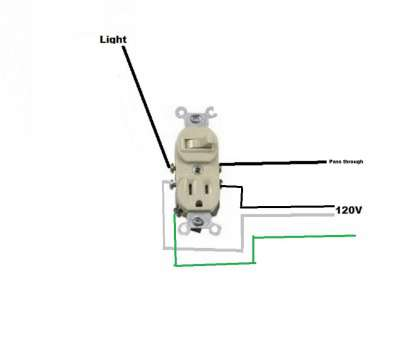 Wiring A Three, Switched Outlet Nice Combo Switch Outlet Wiring Diagram, Best Of, To Wire A Switched Photos