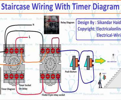 Wiring A Timer Switch Diagram New Staircase Wiring With Timer Diagram Explain (Hindi/Urdu) Photos