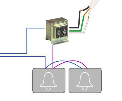 Wiring Diagram, Doorbell With 2 Chimes Brilliant How To ... on
