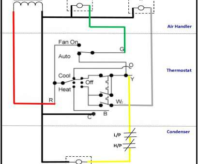 Wire Home Hvac Systems Diagrams - Schematics Online A C Thermostat Wiring on