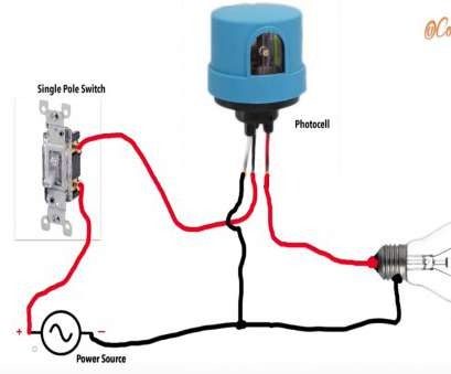 wiring diagram photocell light switch how to wire a photocell in a circuit youtube rh youtube, wiring diagram, 120v photocell wiring diagram, photocell light 20 Fantastic Wiring Diagram Photocell Light Switch Solutions