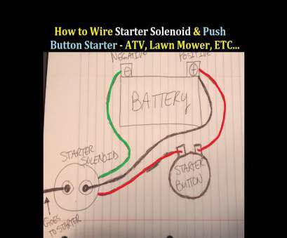 wiring diagram for starter button How to Wire Starter Button, Solenoid to an, 3 Wheeler 4 Wheeler Wiring Diagram, Starter Button Most How To Wire Starter Button, Solenoid To An, 3 Wheeler 4 Wheeler Pictures