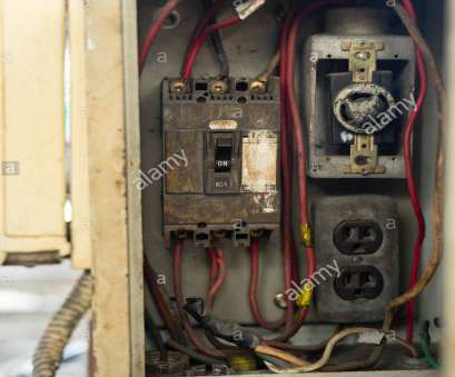 wiring from electrical panel close up, and dirty Breakers switch in electric box, circuit breakers, electrical panel, switch with wires Wiring From Electrical Panel Perfect Close Up, And Dirty Breakers Switch In Electric Box, Circuit Breakers, Electrical Panel, Switch With Wires Images