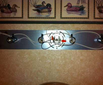 wiring light fixture bathroom How to install a simple bathroom vanity light Wiring Light Fixture Bathroom Cleaver How To Install A Simple Bathroom Vanity Light Images