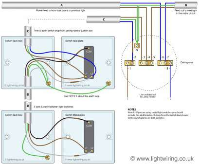 wiring light switch end of run Two, light switching (3 wire system,, harmonised cable colours) showing switch Wiring Light Switch, Of Run Perfect Two, Light Switching (3 Wire System,, Harmonised Cable Colours) Showing Switch Images