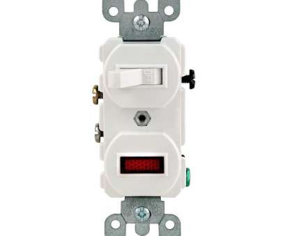 wiring light switch with indicator Leviton 1/25W-125V Combination Switch with Neon Pilot Light, White Wiring Light Switch With Indicator Creative Leviton 1/25W-125V Combination Switch With Neon Pilot Light, White Pictures