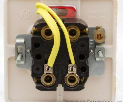 wiring light switch with indicator MK double pole switch, 20 amps, back view Wiring Light Switch With Indicator Practical MK Double Pole Switch, 20 Amps, Back View Solutions