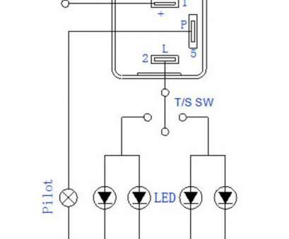 wiring a 3 pin switch 3, led flasher relay wiring diagram schematics  wiring data u2022