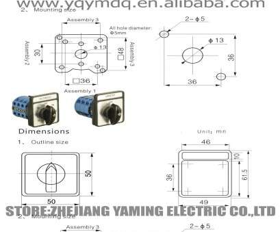 4 Pole 3 Position Switch Wiring Diagram  4-wire Fan Switch Diagram