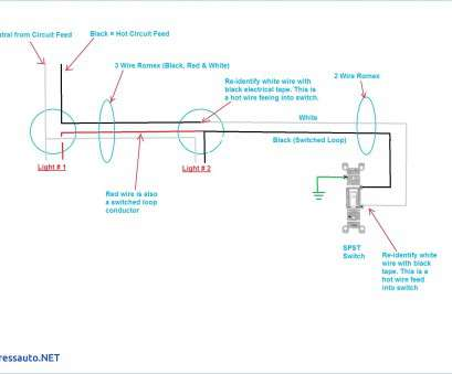 3 Switch Wire Diagram - Schematics Online on