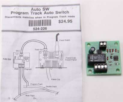 wiring nce switch 8 NCE 524226 (Auto-SW) Program Track Auto Switch Wiring, Switch 8 Cleaver NCE 524226 (Auto-SW) Program Track Auto Switch Photos
