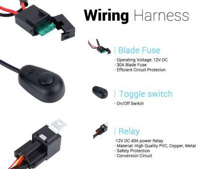 wiring switch on off Amazon.com: ANNT Waterproof 3M 10ft, 40A, Road, Offroad, Light, Wiring Kits Wiring Harness, High Watt, Bar, with 40, Power Relay Wiring Switch On Off Best Amazon.Com: ANNT Waterproof 3M 10Ft, 40A, Road, Offroad, Light, Wiring Kits Wiring Harness, High Watt, Bar, With 40, Power Relay Solutions
