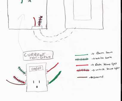 wiring switch off outlet Absolutely Smart Outlet Switch Combo Wiring Diagram Diagrams, Light A, On Wiring Switch, Outlet Fantastic Absolutely Smart Outlet Switch Combo Wiring Diagram Diagrams, Light A, On Pictures