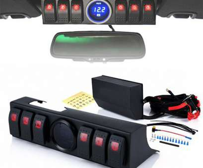 wiring switch voltmeter 6 rocker switch panelcontrol system with voltmeter display & wiring, 2009-2017 Jeep Wrangler Wiring Switch Voltmeter Top 6 Rocker Switch Panelcontrol System With Voltmeter Display & Wiring, 2009-2017 Jeep Wrangler Ideas