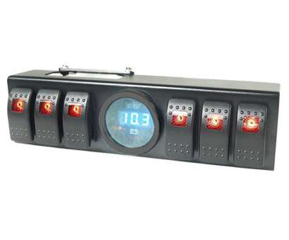 wiring switch voltmeter Get Quotations · Liteway Overhead 6 Rocker Switch, / Panel Wiring, Panel with Control, Source System Wiring Switch Voltmeter Perfect Get Quotations · Liteway Overhead 6 Rocker Switch, / Panel Wiring, Panel With Control, Source System Solutions
