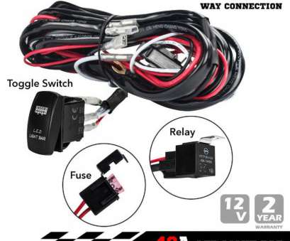 wiring toggle switch for lamp Universal, 40a One-to-two, Light, Wiring Harness Rocker Switch Kits Relay Working Lamp Wiring Toggle Switch, Lamp Fantastic Universal, 40A One-To-Two, Light, Wiring Harness Rocker Switch Kits Relay Working Lamp Collections