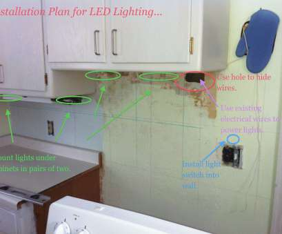 Wiring Under Cabinet Lighting New Led Under Cabinet Lighting Direct Wire Lovely, To Install Under Cabinet Lights Cabinets Decorating Ideas Images