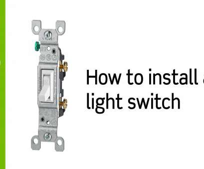 wiring up a light switch Leviton Presents:, to Install a Light Switch 12 Simple Wiring Up A Light Switch Pictures