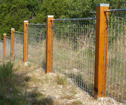 Woven Wire Mesh Fence Cost Simple Easy, Hog Wire Fence Cost, Raised Beds, To Build A, Wire Fence Ideas Metal Vines, Wire Fence Dogs, Wire Fence Gate Railing Modern, Wire Ideas