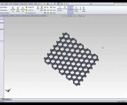 woven wire mesh inventor SolidWorks /SolidWorks Tutorial Honeycomb /SolidWorks Woven Wire Mesh Inventor Creative SolidWorks /SolidWorks Tutorial Honeycomb /SolidWorks Collections