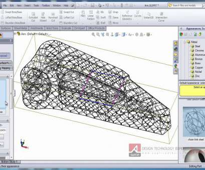 Woven Wire Mesh Inventor Creative SolidWorks /SolidWorks