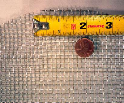 woven wire mesh meaning #50-304 Stainless Steel Square Woven Wire Mesh Cloth. Measures 12