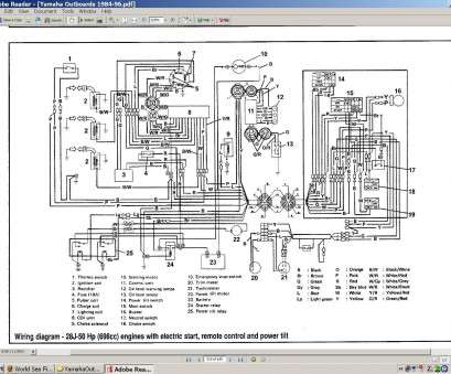 yamaha outboard electrical wiring diagram yamaha, outboard side control  gaskets? wiring?