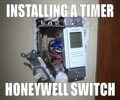youtube how to wire a light Installing a timer Honeywell Econoswitch RPLS740B Youtube, To Wire A Light Popular Installing A Timer Honeywell Econoswitch RPLS740B Photos