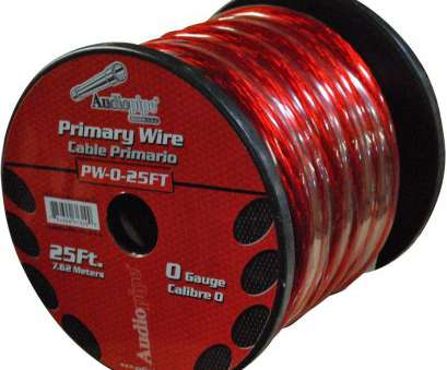 zero gauge speaker wire Get Quotations · nippon pw025rd Audiopipe Pw025rd, 0 Gauge 25 Spool Oxygen Free Power Cable Zero Gauge Speaker Wire Brilliant Get Quotations · Nippon Pw025Rd Audiopipe Pw025Rd, 0 Gauge 25 Spool Oxygen Free Power Cable Images