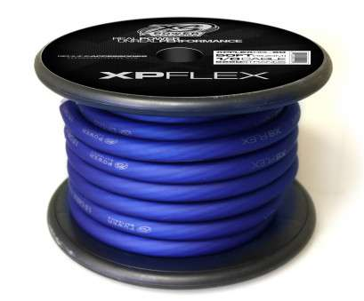 zero gauge speaker wire XP FLEX Blue, Cable, XS Power Zero Gauge Speaker Wire Practical XP FLEX Blue, Cable, XS Power Ideas