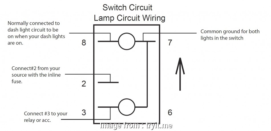 Toggle Switch Wire Diagram Creative Carling Spdt Toggle Switch ... on