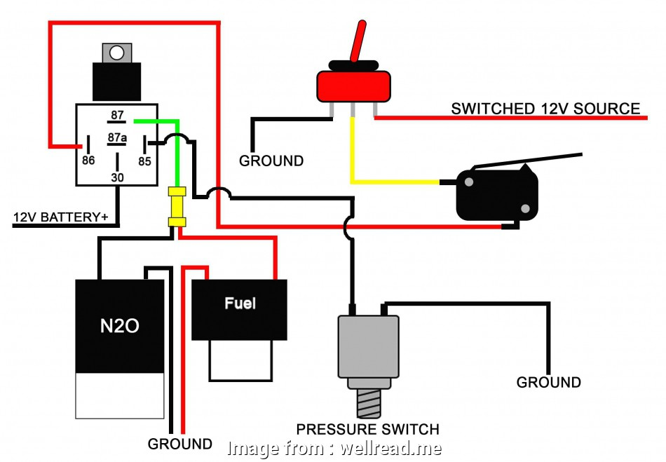 toggle switch wiring diagram 12v 12v Lighted Toggle Switch Wiring Diagram Lukaszmira, New 12V 20 Simple Toggle Switch Wiring Diagram 12V Ideas