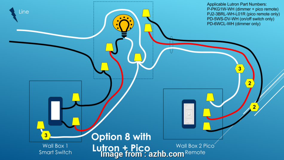 Lutron Pico Wiring Diagram on