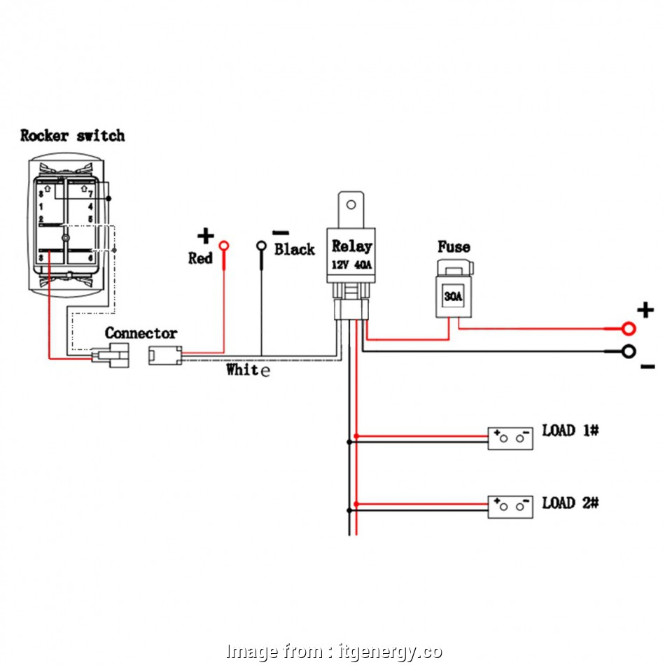 Two Position Toggle Switch Wiring Practical Double Rocker Switch  Wiring Diagram Wire Data U2022