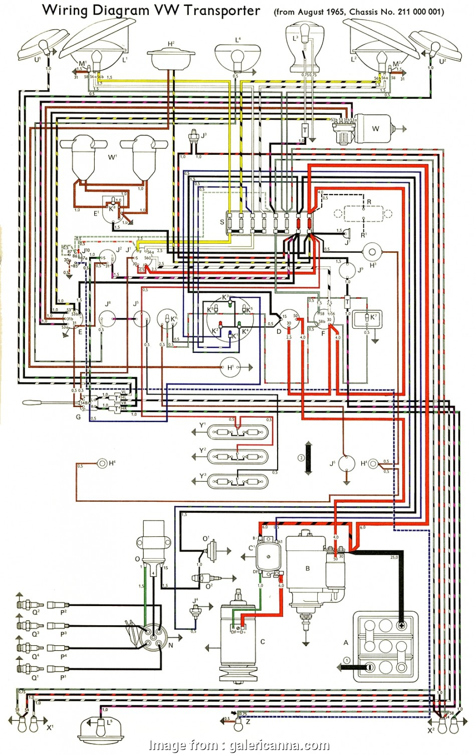 Types Of Electrical Wire Pdf Most Thesamba Type 2 Wiring